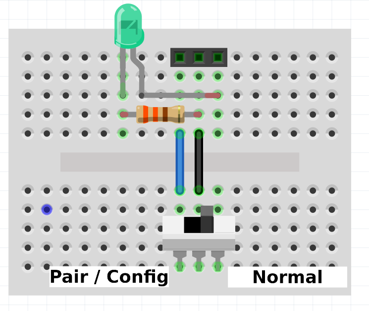 Ironman Monitor Switch Breadboard